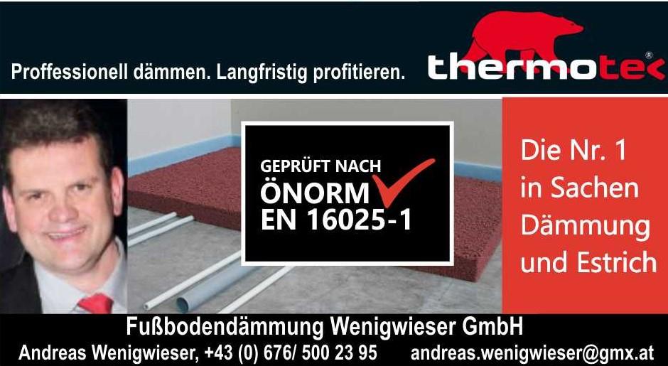 Thermotec Fußbodendämmung Wenigwieser GmbH